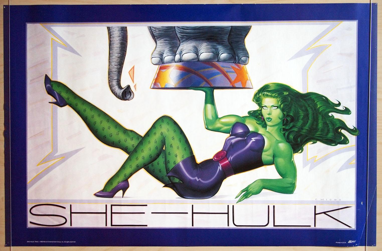 She Hulk Poster